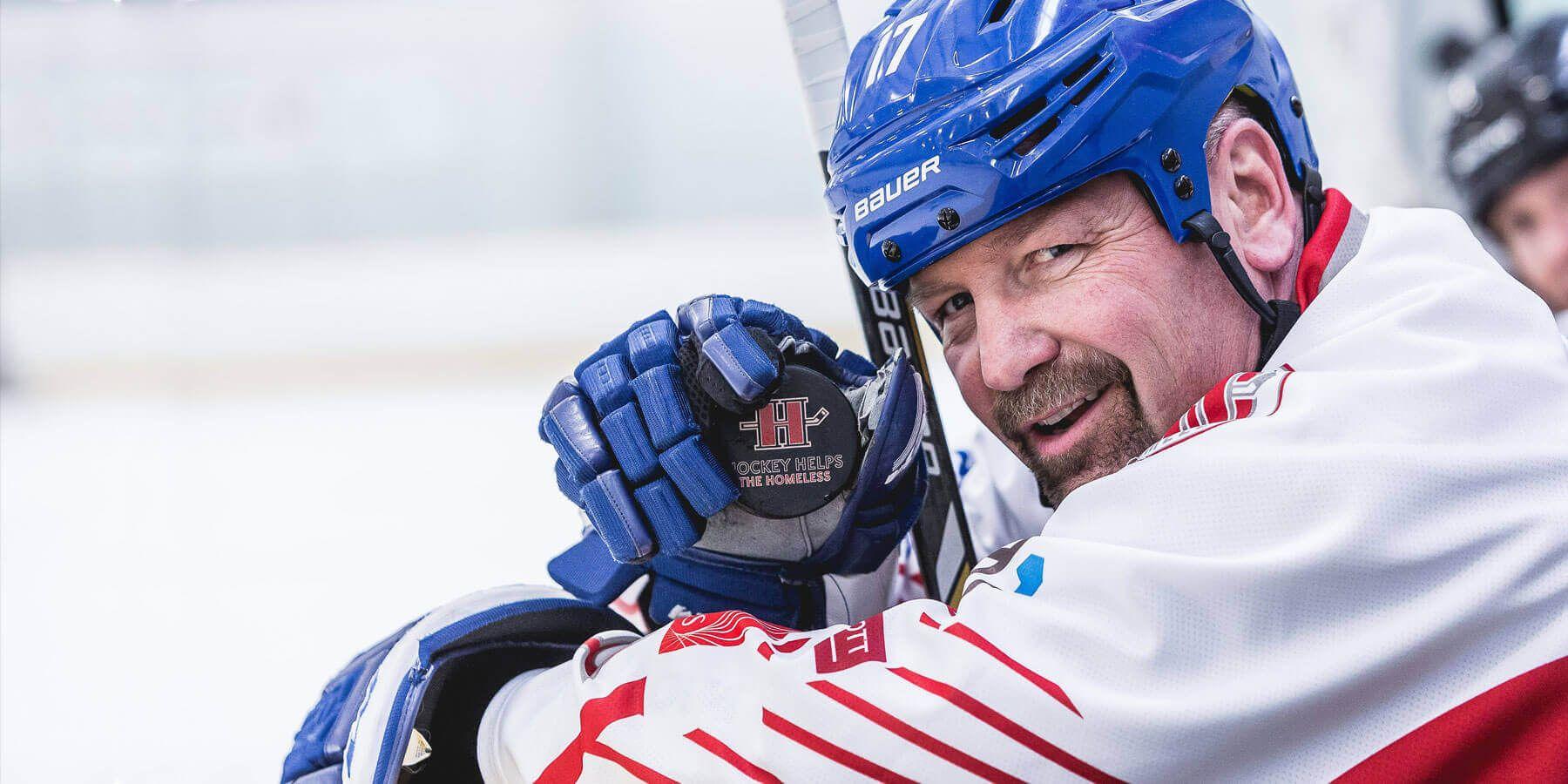 Hockey Helps The Homeless Home
